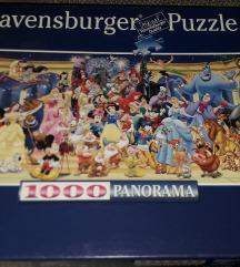 🎁 Velike 1000 kom Disney Ravensburger Puzzle 🎁🥰