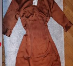 H&m haljina svilena nova s etiketom