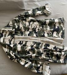 Nova H&M maskirna jakna/parka