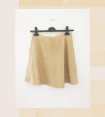 New look suknja, brušena 'koža'