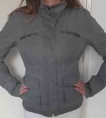 Siva, pamučna jakna ONly