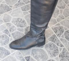 Zara Visoke kožne čizme