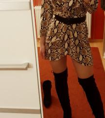 Bershka zmijska haljina