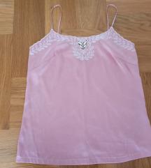 Aqua ružičasti top na bretele