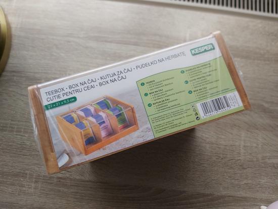 Nova kutija za čaj