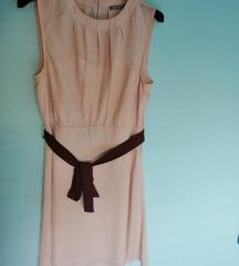 Svečana nježno roza haljina
