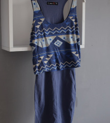 uska ljetna haljina do koljena %%20kn%%