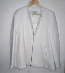Zara bijeli kaputić M