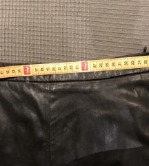 Kožne kratke hlače nove