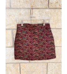 ZARA mini cvjetna suknja - NOVO