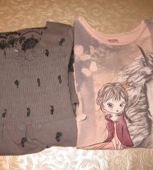 Dvije majice vel.122
