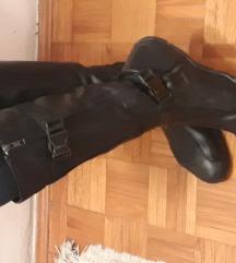 DKNY crne kozne cizme, broj 40