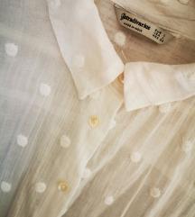Bijela košulja na točke