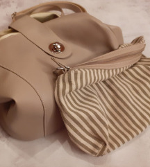 Sivo srebrna torba