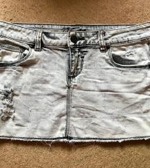 Fishbone jeans suknja (30 kn)