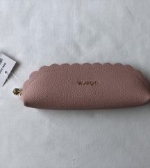 Kozmetička torbica / pernica, s etiketom