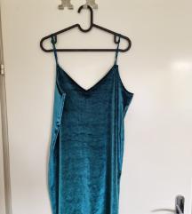 Slip plisana haljina