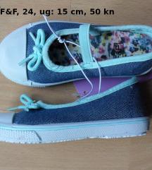Nove F&F cipele balerinke, 24