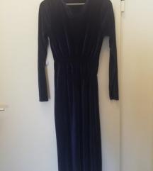 Zara plisirana midi haljina