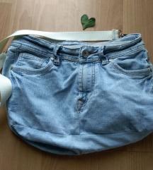 Ručno šivana jeans traper torba