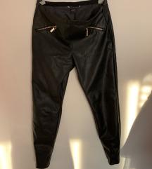 Armani jeans kožne hlace