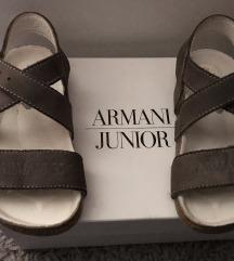 Armani Junior kožne sandalice