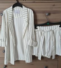 Bershka bijelo odijelo