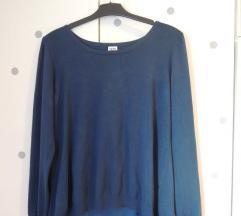 Vero Moda plavi pulover s patentom na leđima