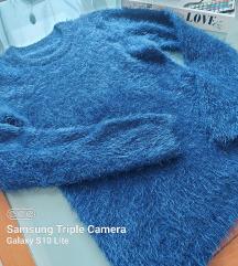 Čupava plava majica 💙💙