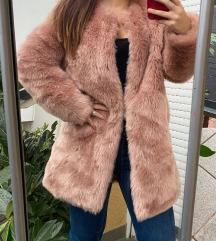 Amisu ružičasta bunda 38