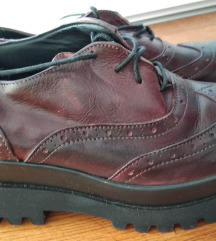 30kn! Kožne cipele na platformu