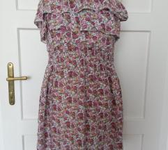 cvjetna ljetna haljina s volanima
