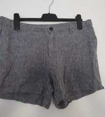 Nove H&M kratke hlače lanene