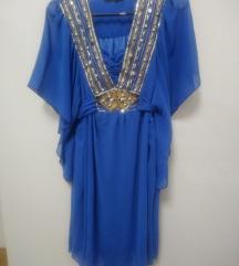 Predivna kraljevsko plava haljina (PT free)