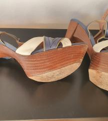 PURA LOPEZ, sandale s platformom