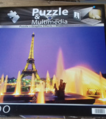 Puzzle multimedia 1000 komada