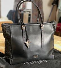 GUESS Luxe Lady ženska torba od prave kože