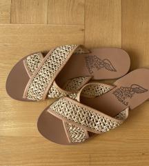 NOVE ANCIENT GREEK SANDALS bež sandale!