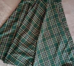 Zara midi karirana suknja M