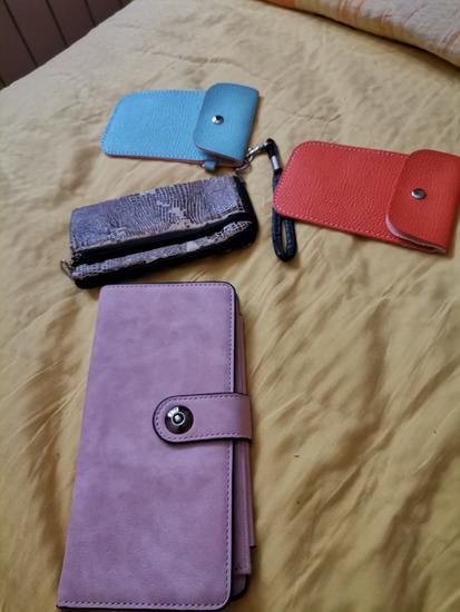 Lot novčanik i 3 manje torbice/novčanik