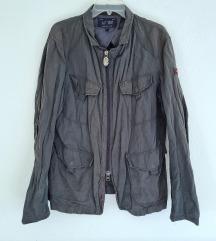 Armani jeans dark green jacket