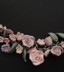 Narukvica roze/ljubičaste ruže