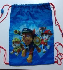 Paw patrol vrećica/ruksak za papuče