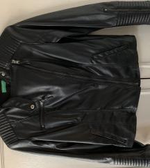 BENETTON Kožna jakna
