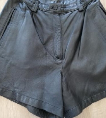 Prava koža hlačice 34