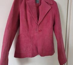 Kožna jakna, roza
