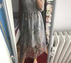 cvjetna haljina, s veličina