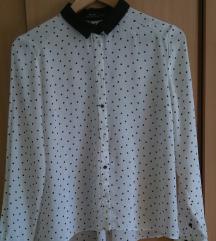 Točkasta košulja/bluza/Bershka