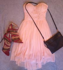 Svečana midi haljina, pt uklj