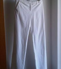 Bijele proljetne hlače Happening